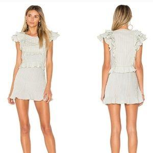 For Love & Lemons size XS Starry Eyed mini dress